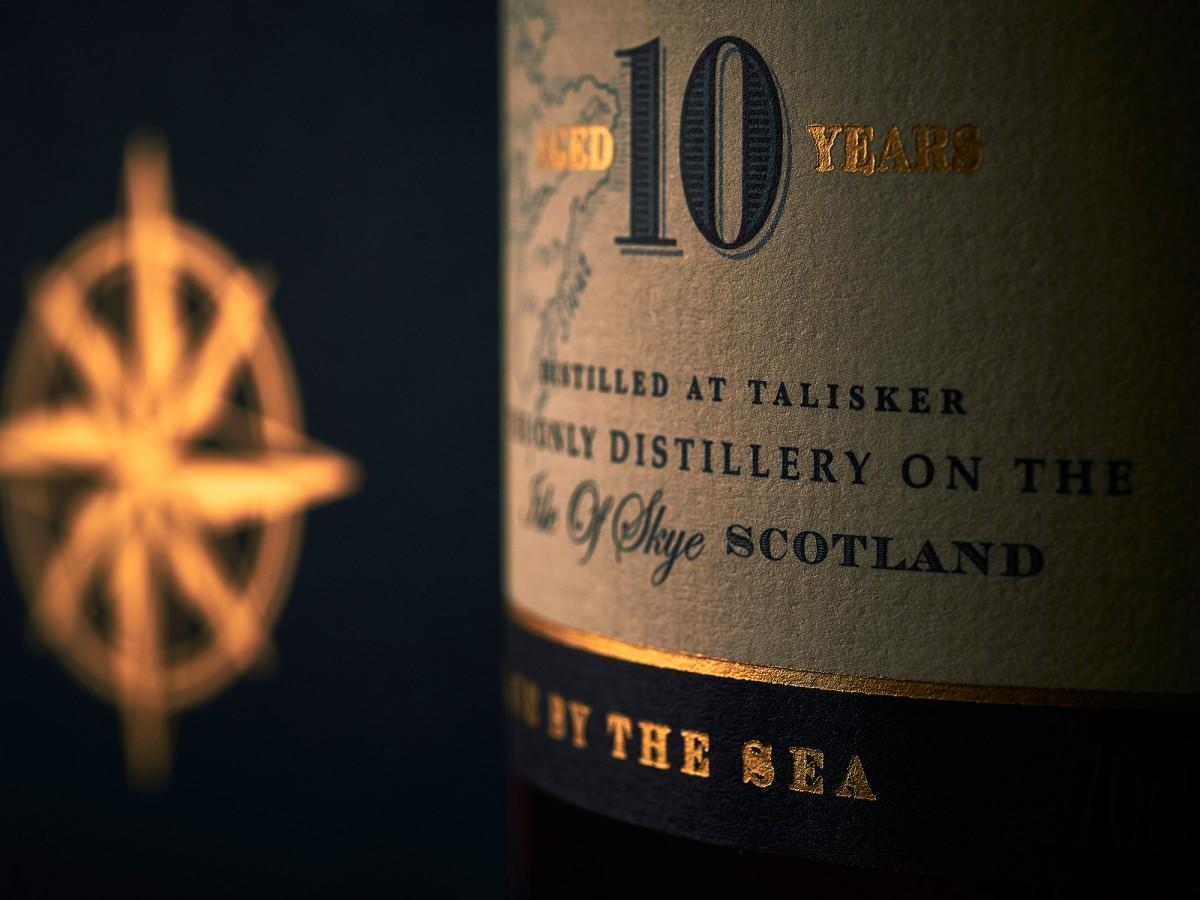Talisker 10 years whiskey
